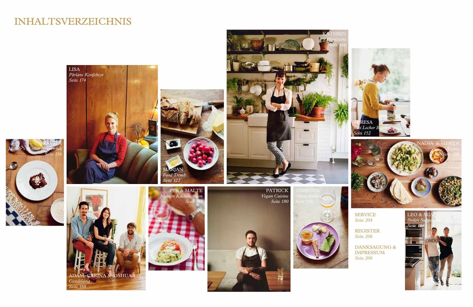 Inhaltsverzeichnis Aus Liebe zum Kochen