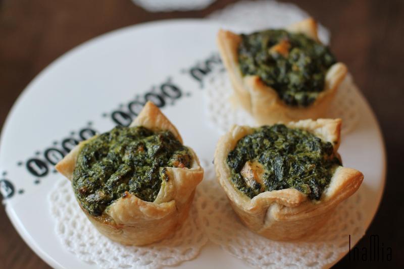 Lachs-Spinat-Tartelettes