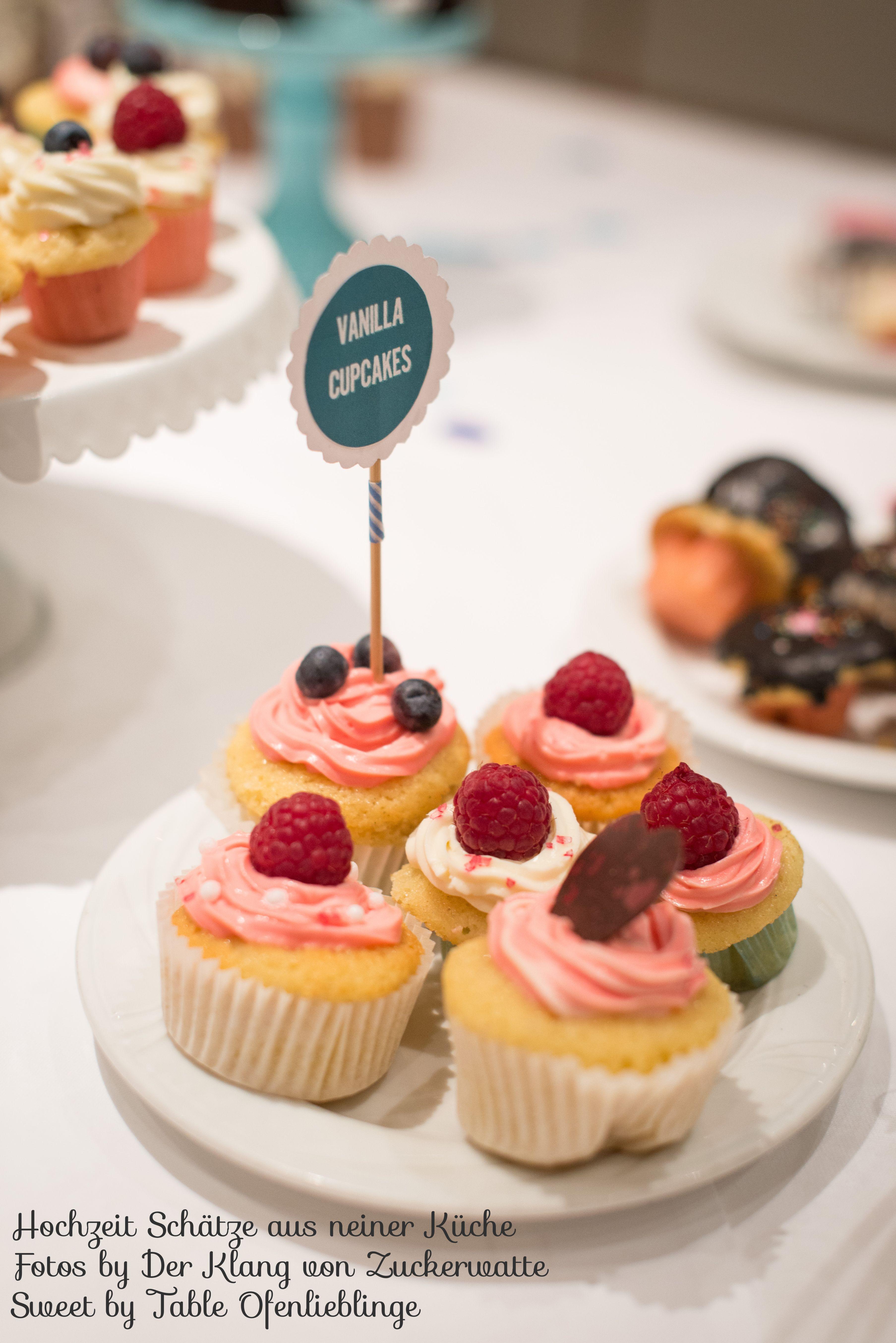 Vanilla Cupcakes Sweet Table Schätze aus meiner Küche