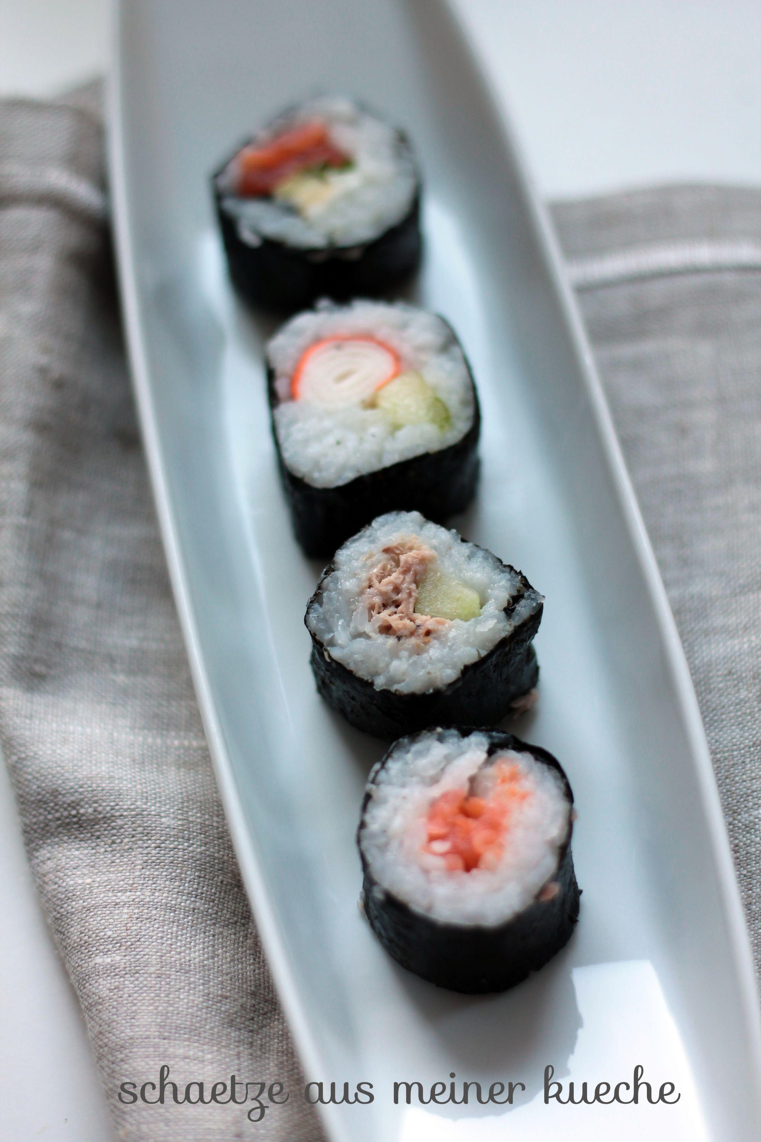 Sushi Maki Schätze aus meiner Küche