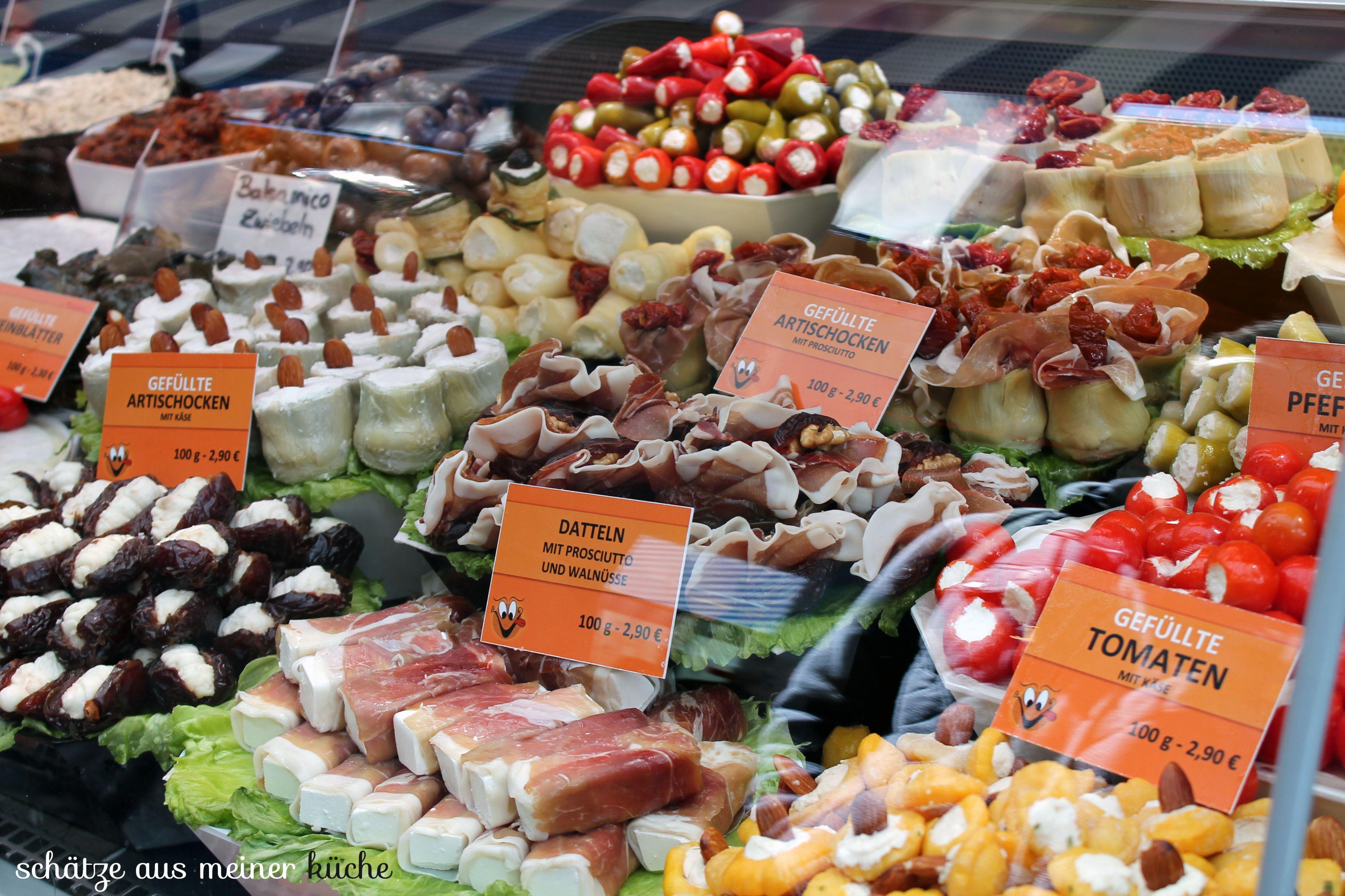 Naschmarkt Antipasti Wien Schätze aus meiner Küche