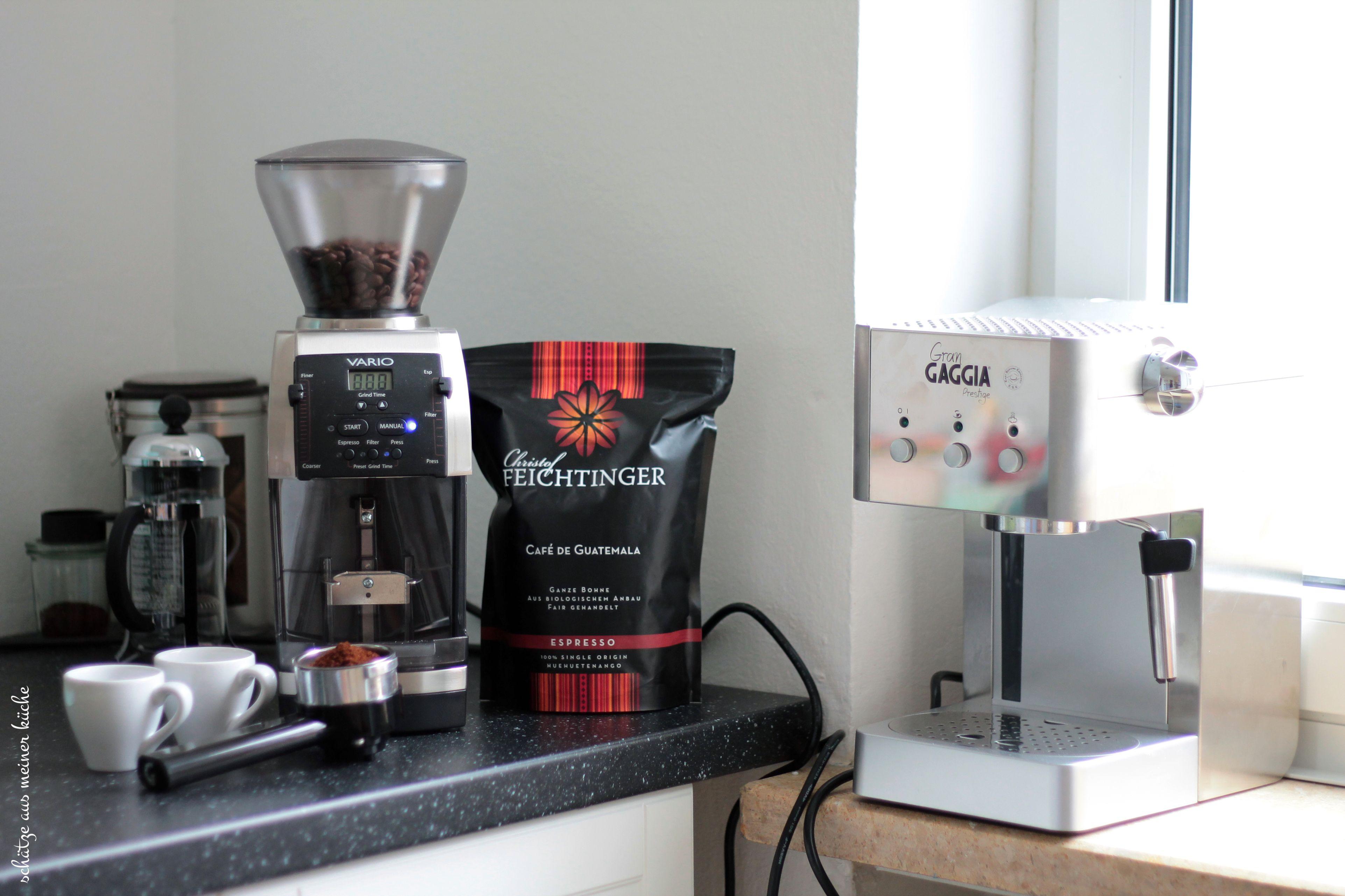 Espresso-Woche Gran Gaggia Prestige Mahlkönig Vario Home Christof Feichtinger Espresso Kaffee