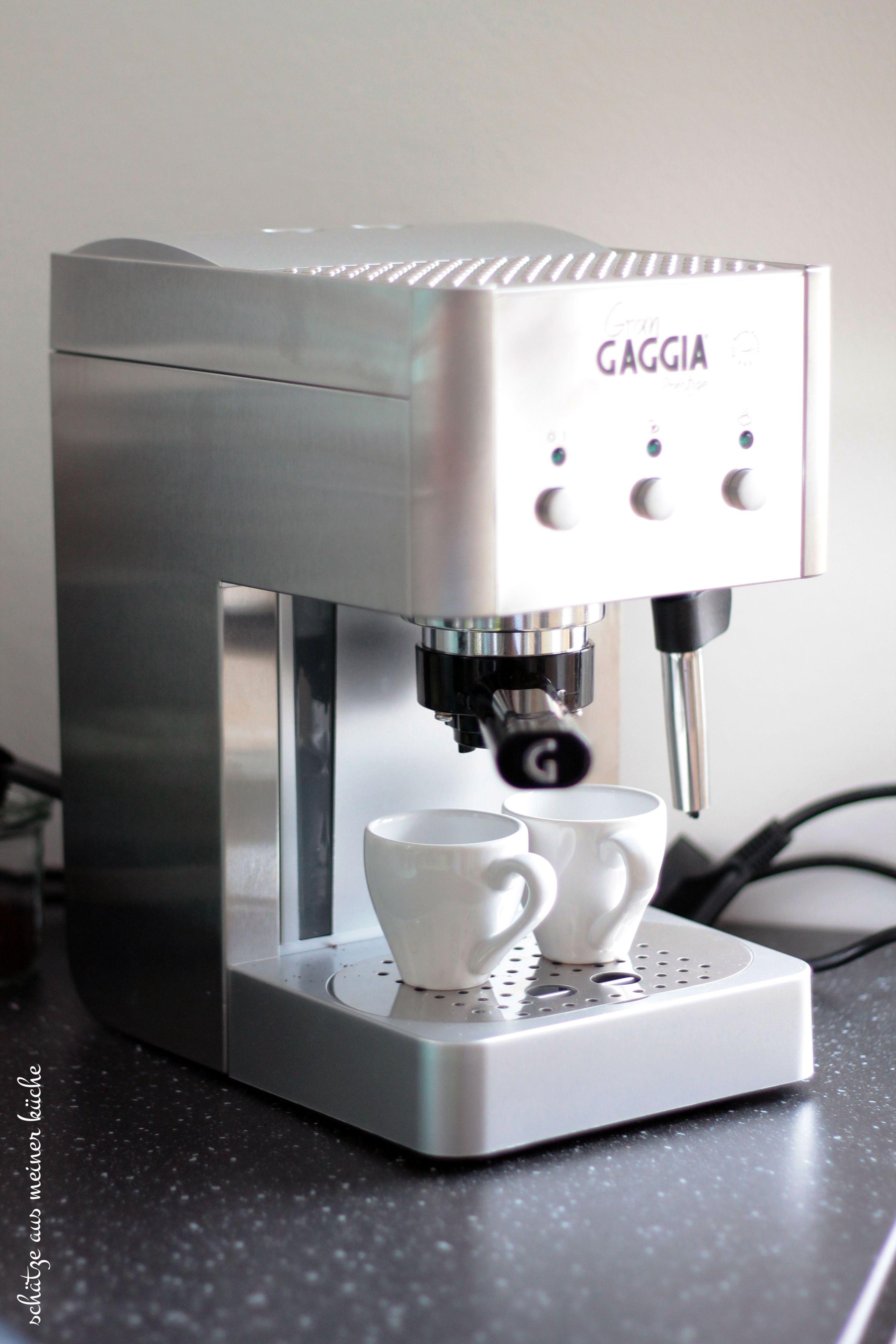 Gran Gaggia Prestige Siebträger-Espresso-Maschine