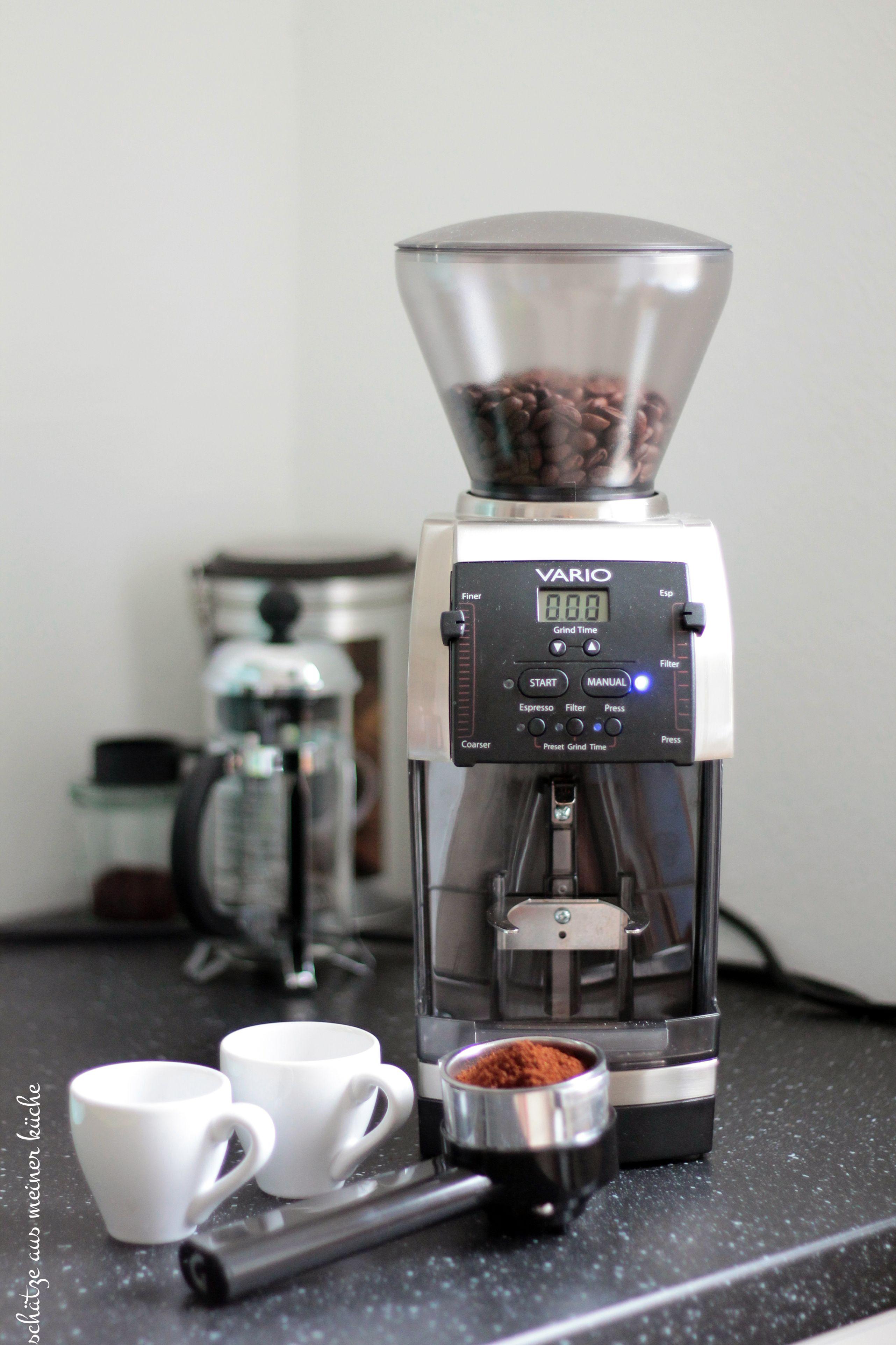 Vario Home Mahlkönig Espresso-Woche Schätze aus meiner Küche