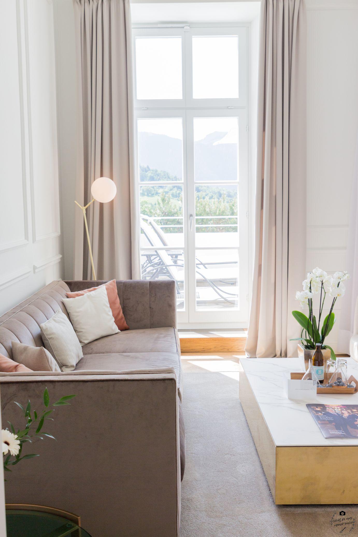 DAS TEGERNSEE Deluxe Suite Lady Wohnbereich