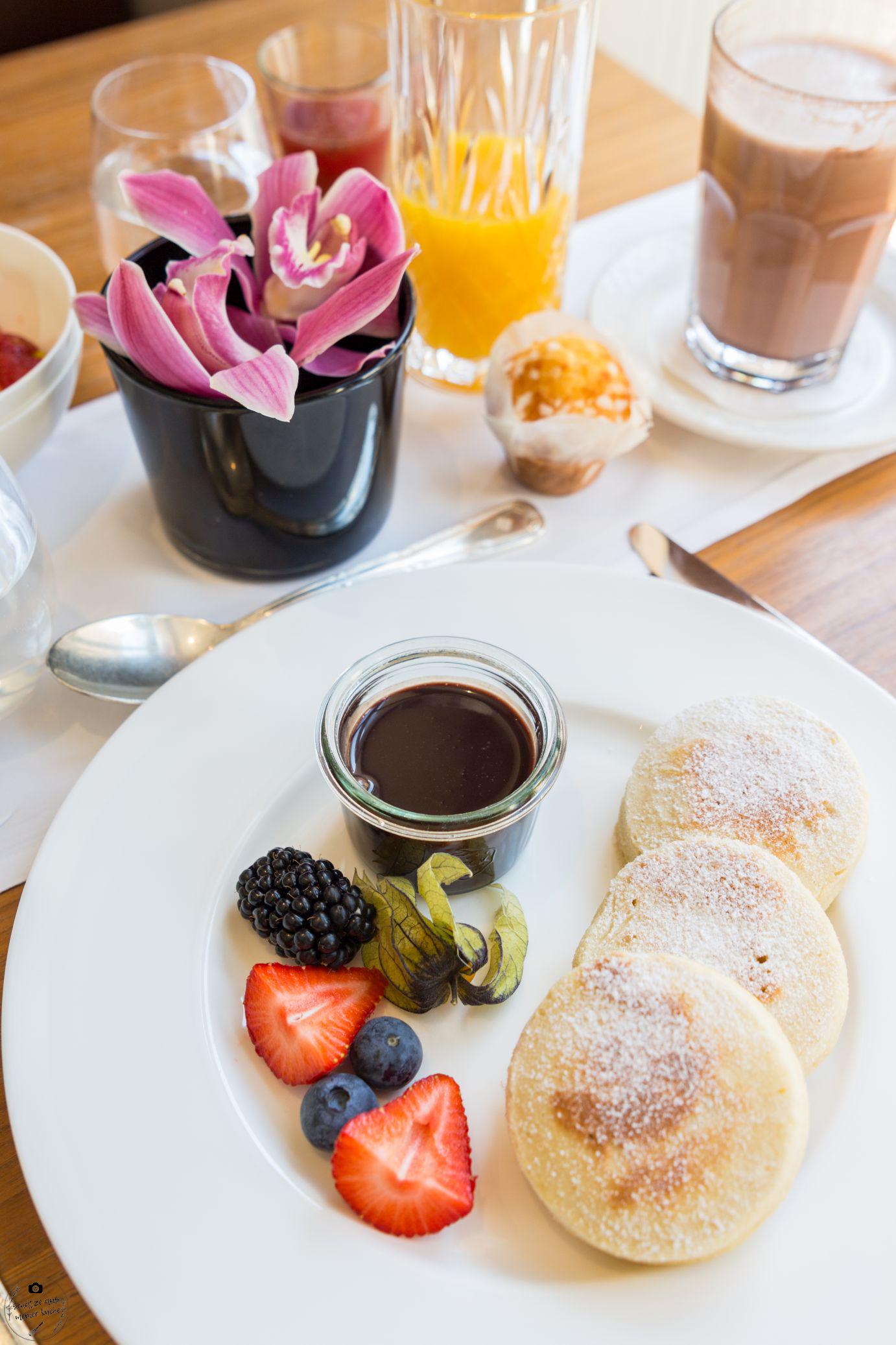 Frühstücken im Schwarzreiter Pancakes