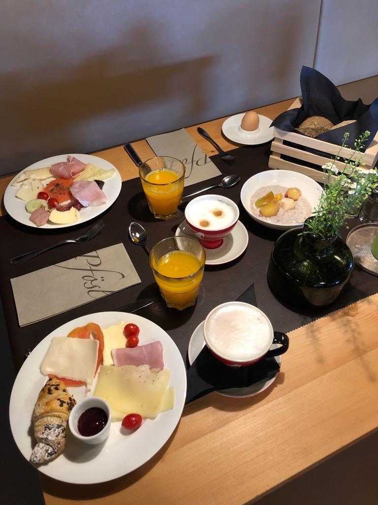 Frühstück Schätze aus meiner Küche Hotel Pfösl