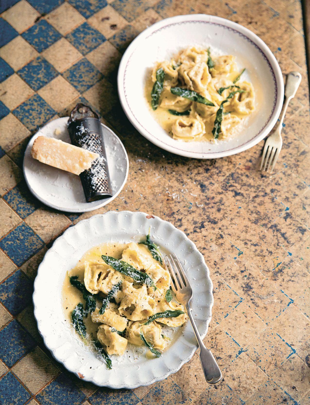 Agnolotti mit Fleischfüllung Gennaros Passione Schätze aus meiner Küche