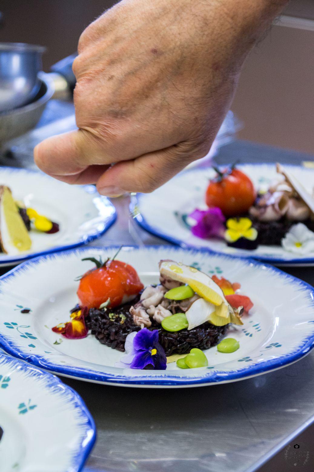 Reis von Riso Gallo Schätze aus meiner Küche Robbio Risotto