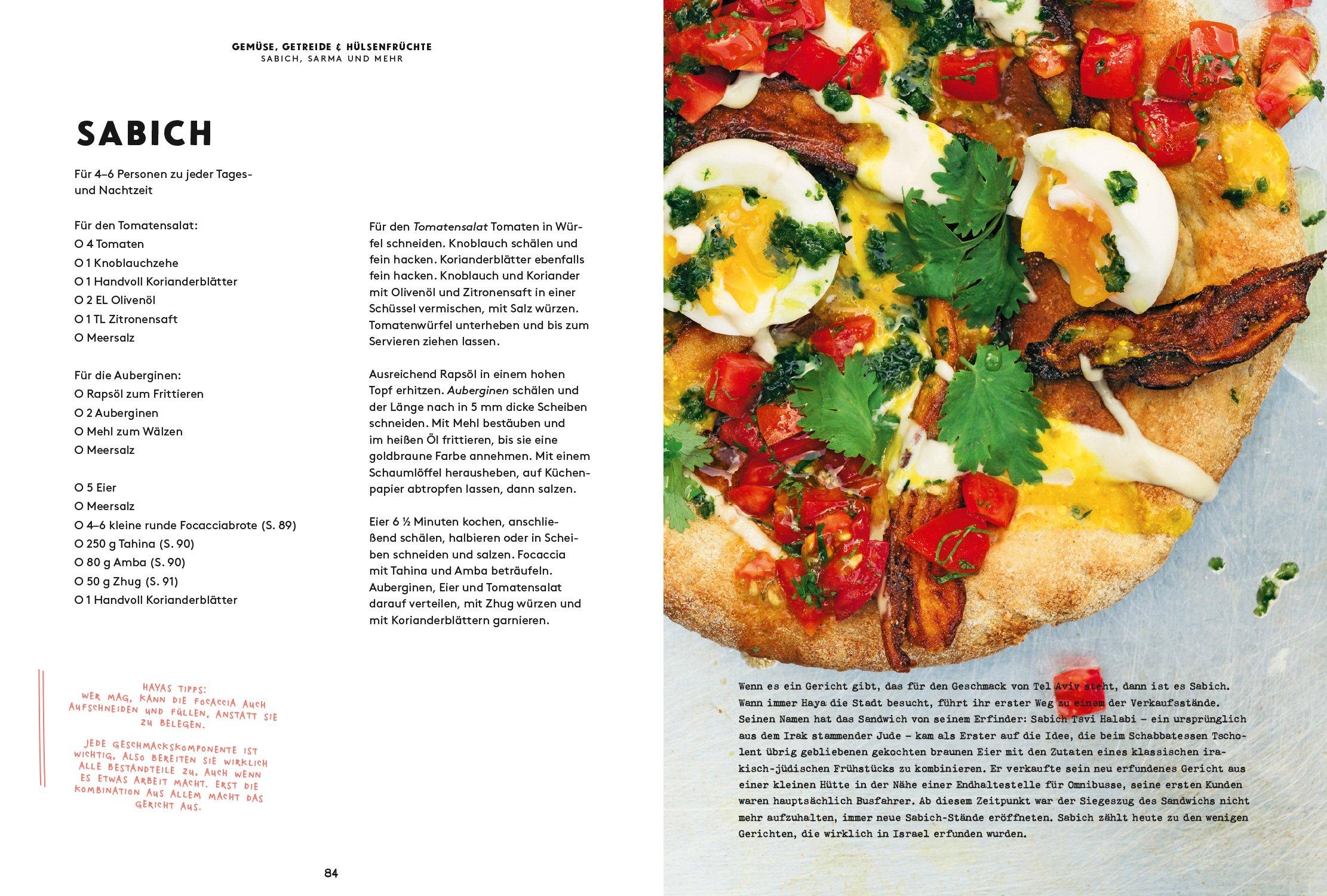 Sabich Kochbuch Tel Aviv Rezept Haya Molcho Schätze aus meiner Küche
