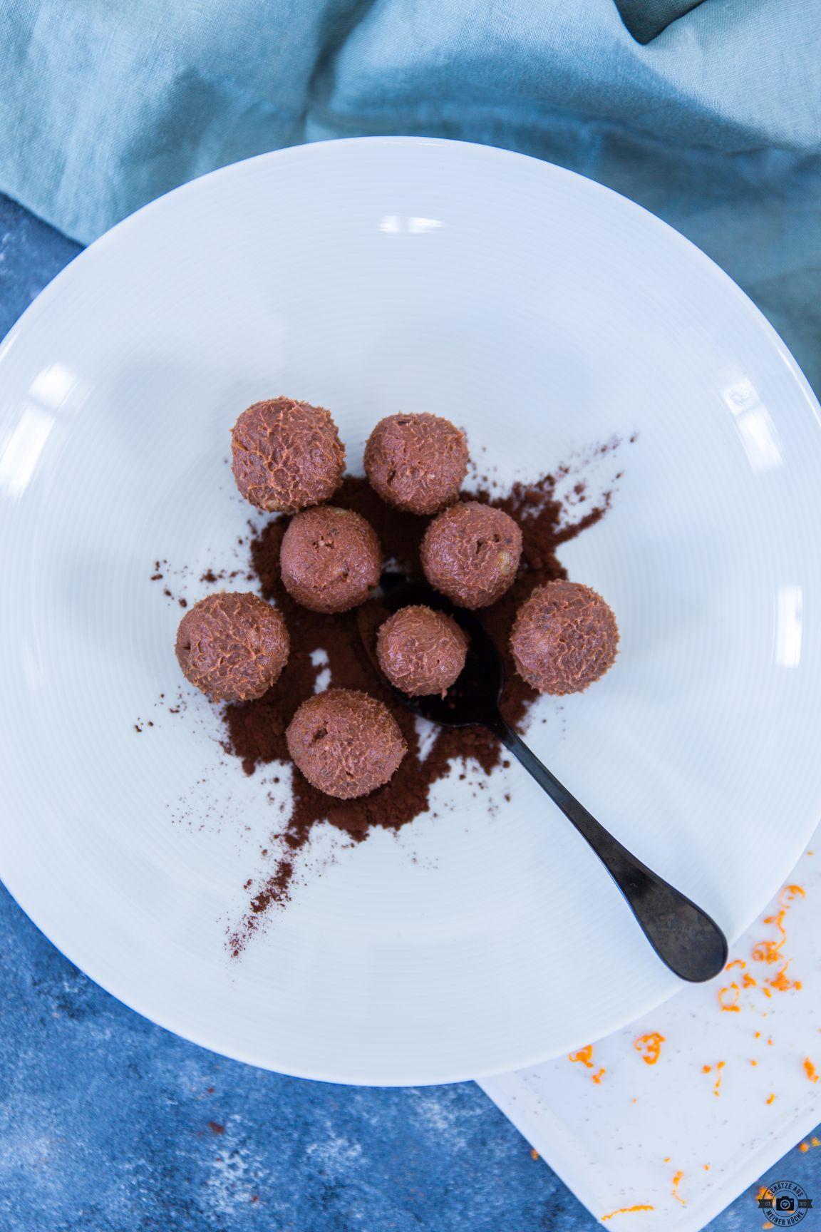 Orangen-Schokoladentrüffel Schätze aus meiner Küche Zentis