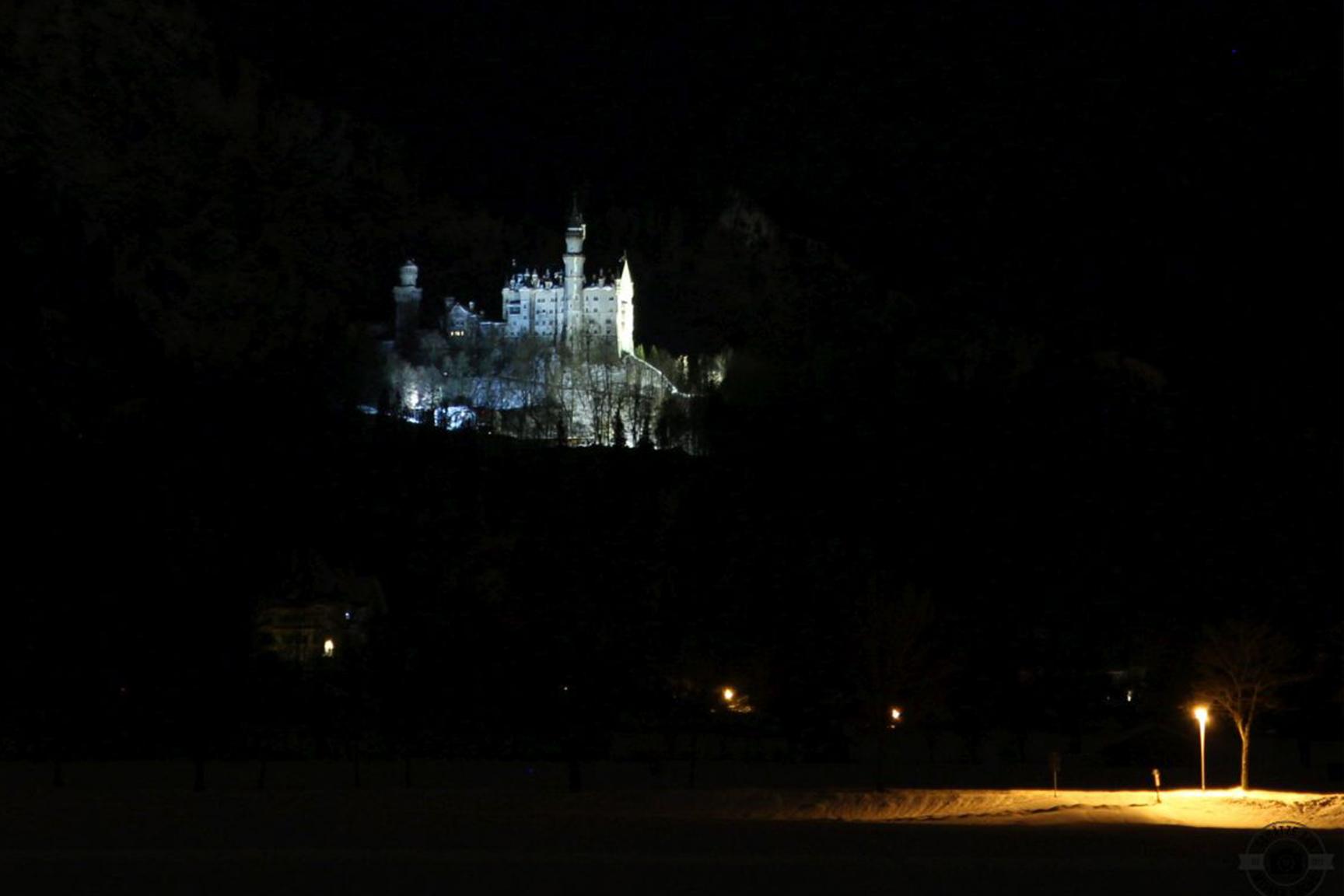 Schloss Neuschwanstein by night Schätze aus meiner Küche
