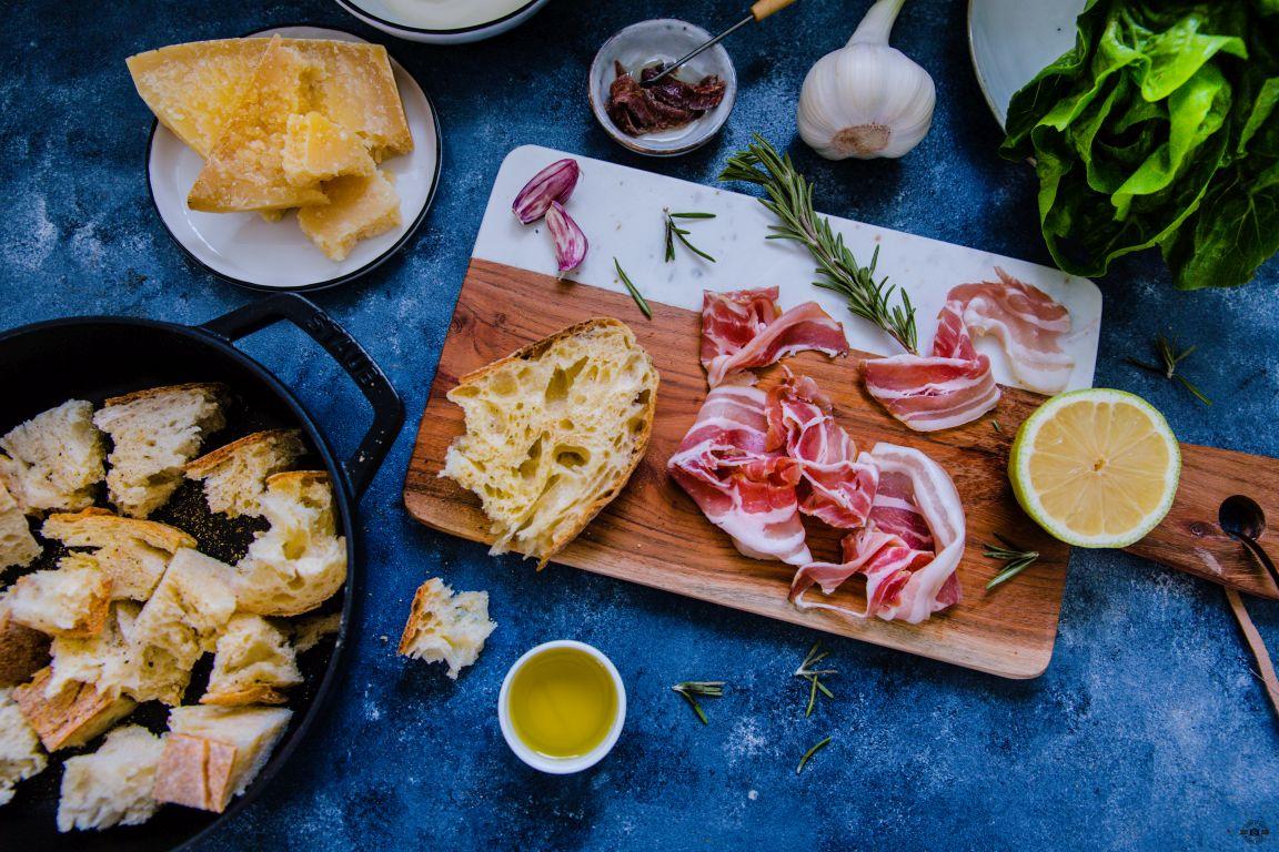 Caesar Salad Jamie Oliver Schätze aus meiner Küche