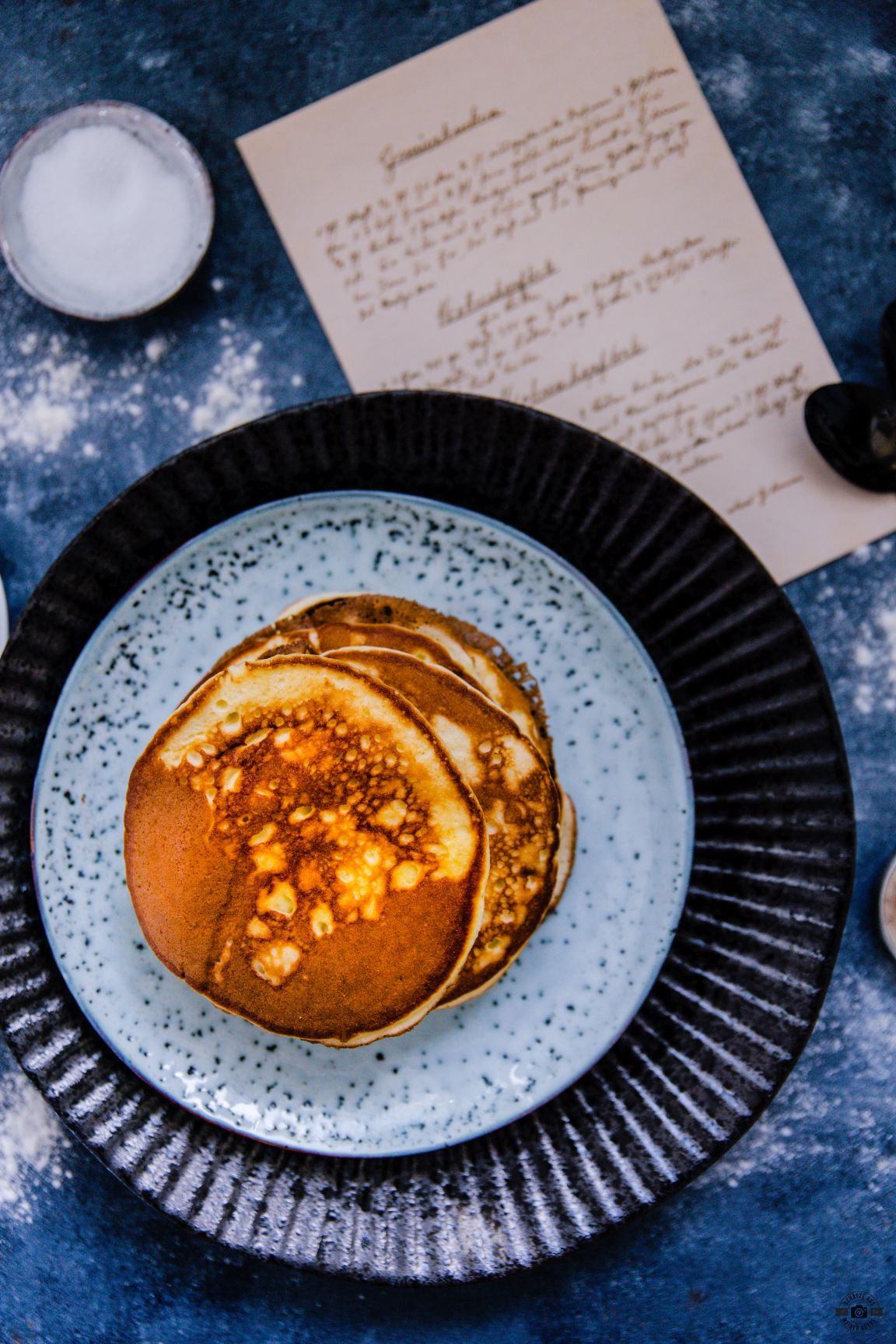 Fluffige Pancakes Schätze aus meiner Küche