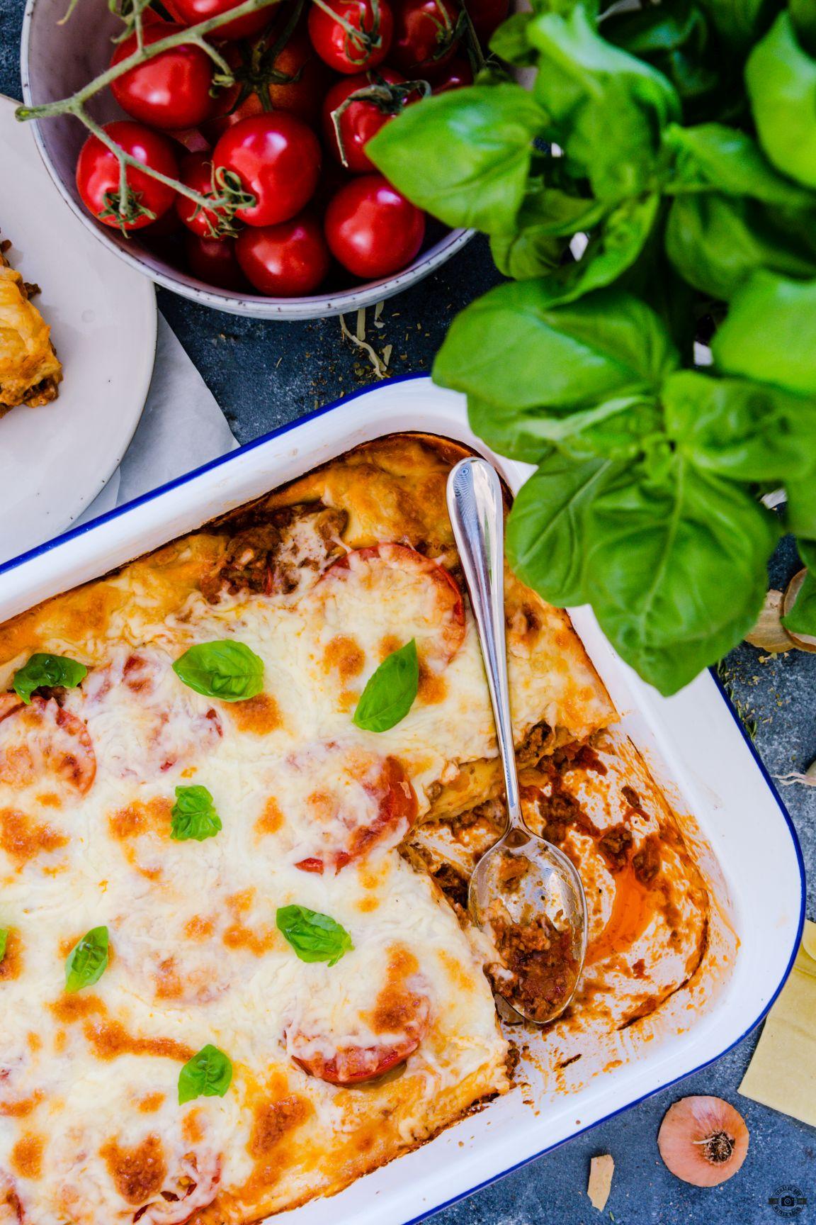 Lasagne al forno Schätze aus meiner Küche