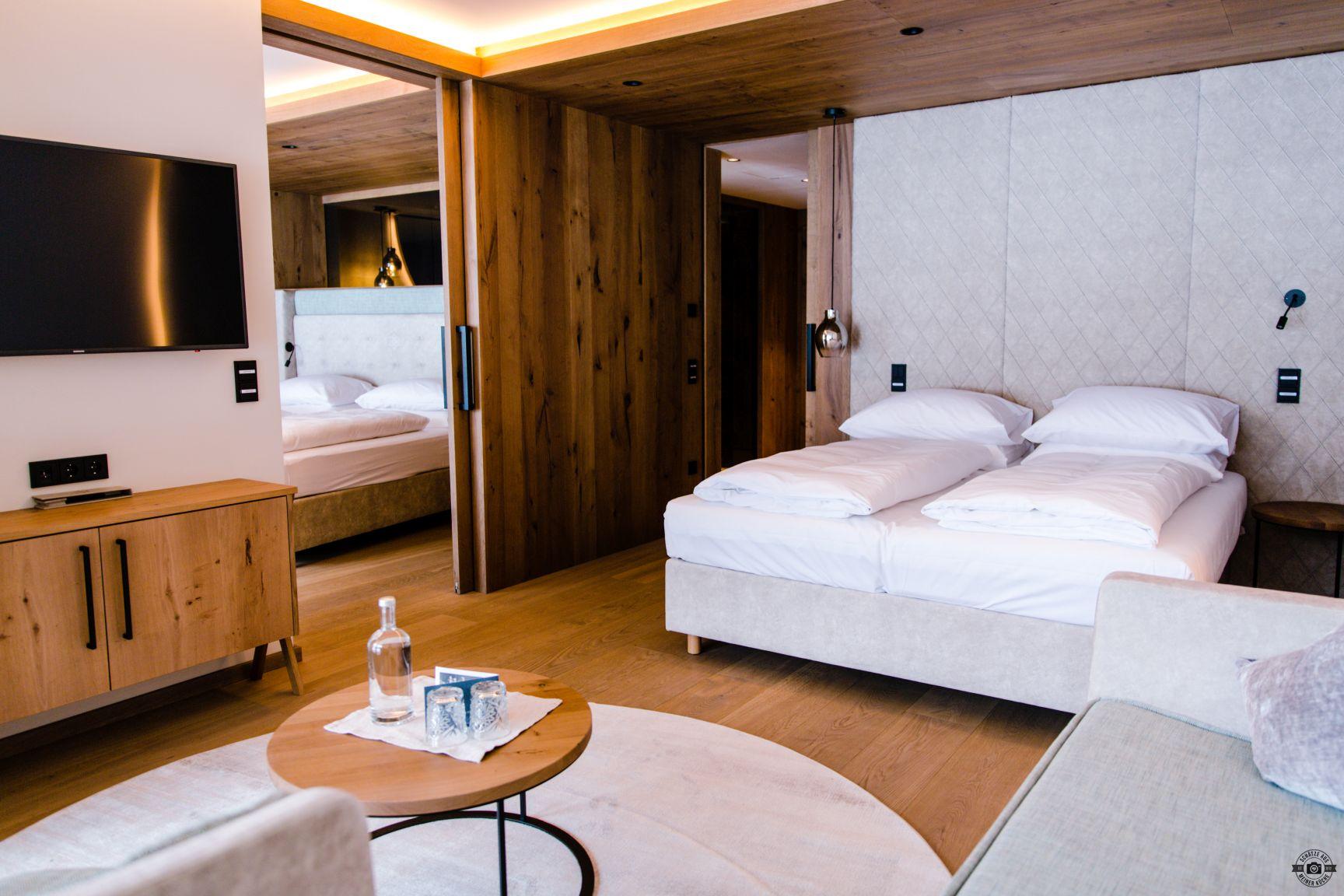 Das EDELWEISS Salzburg Mountain Resort Schätze aus meiner Küche Deluxe Suite Lavendel