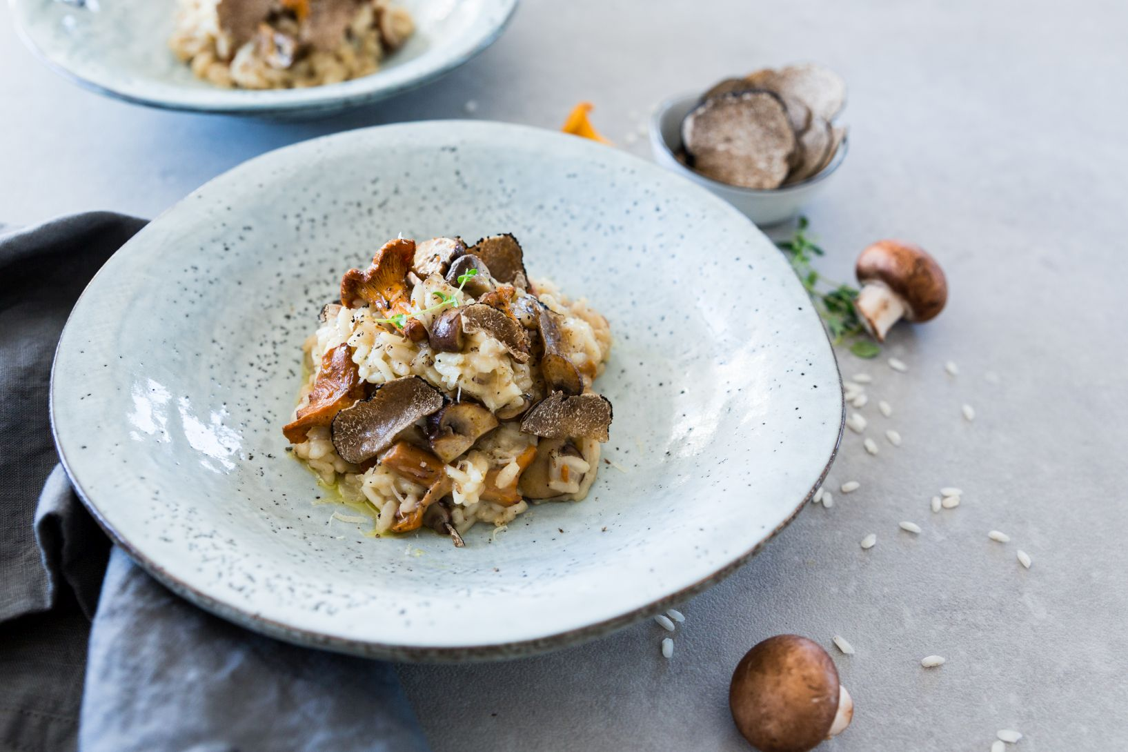 Pilzrisotto mit Trüffel Schätze aus meiner Küche