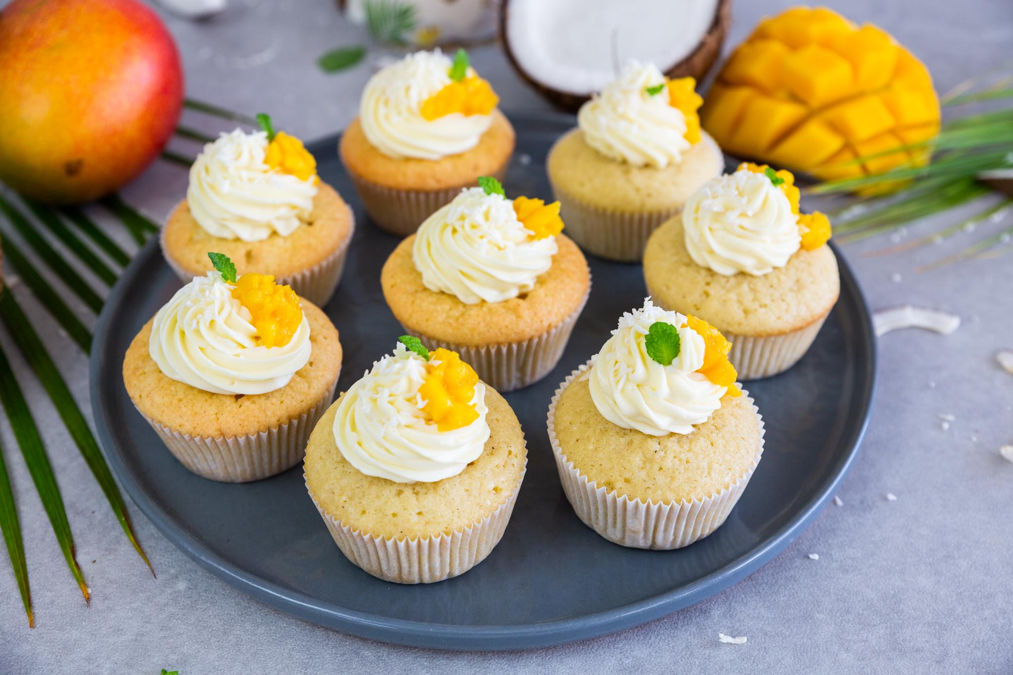 Mango-Kokos-Cupcakes Schätze aus meiner Küche