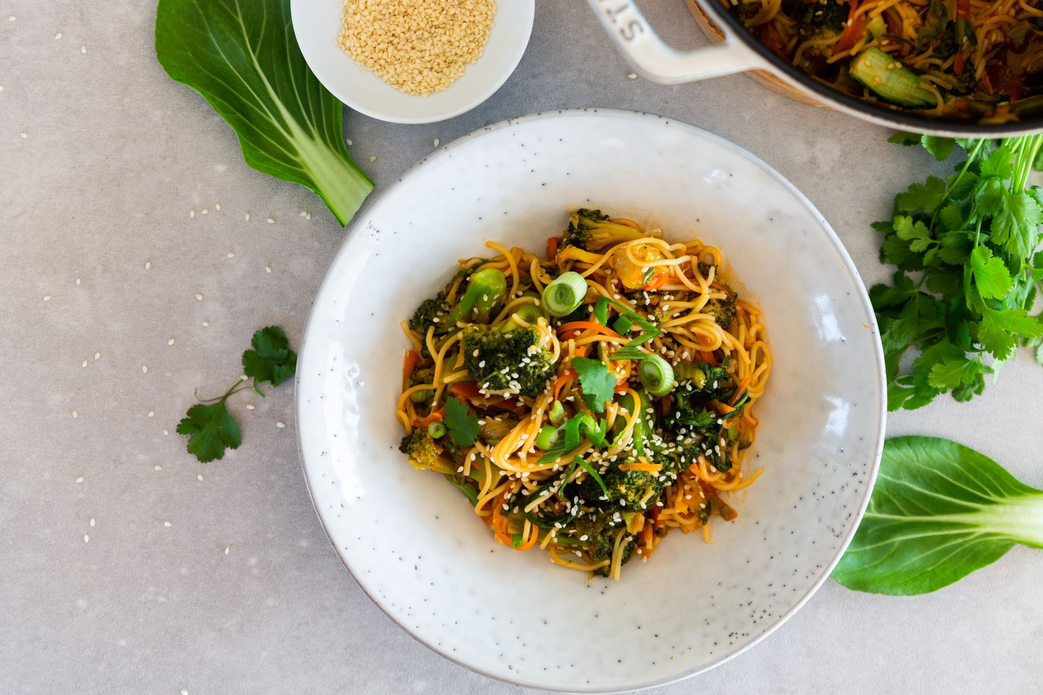 Teriyaki-Nudeln mit Gemüse Schätze aus meiner Küche