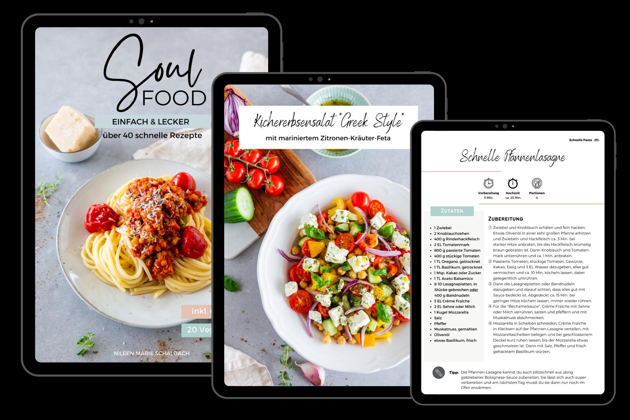 E-Book Soulfood - Einfach & Lecker Schätze aus meiner Küche